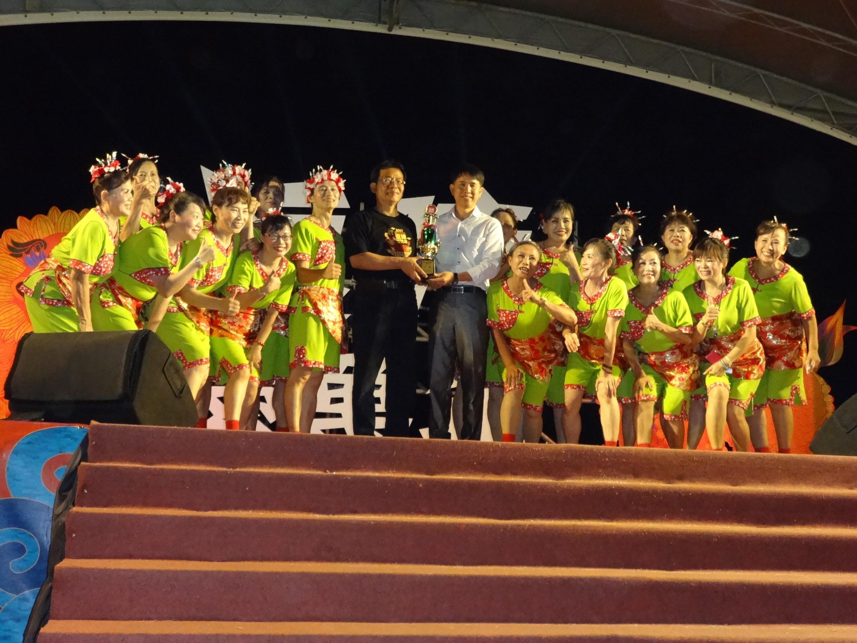本區代表隊統嶺社區榮獲「2017年度台客舞萬年競賽活動」優勝獎