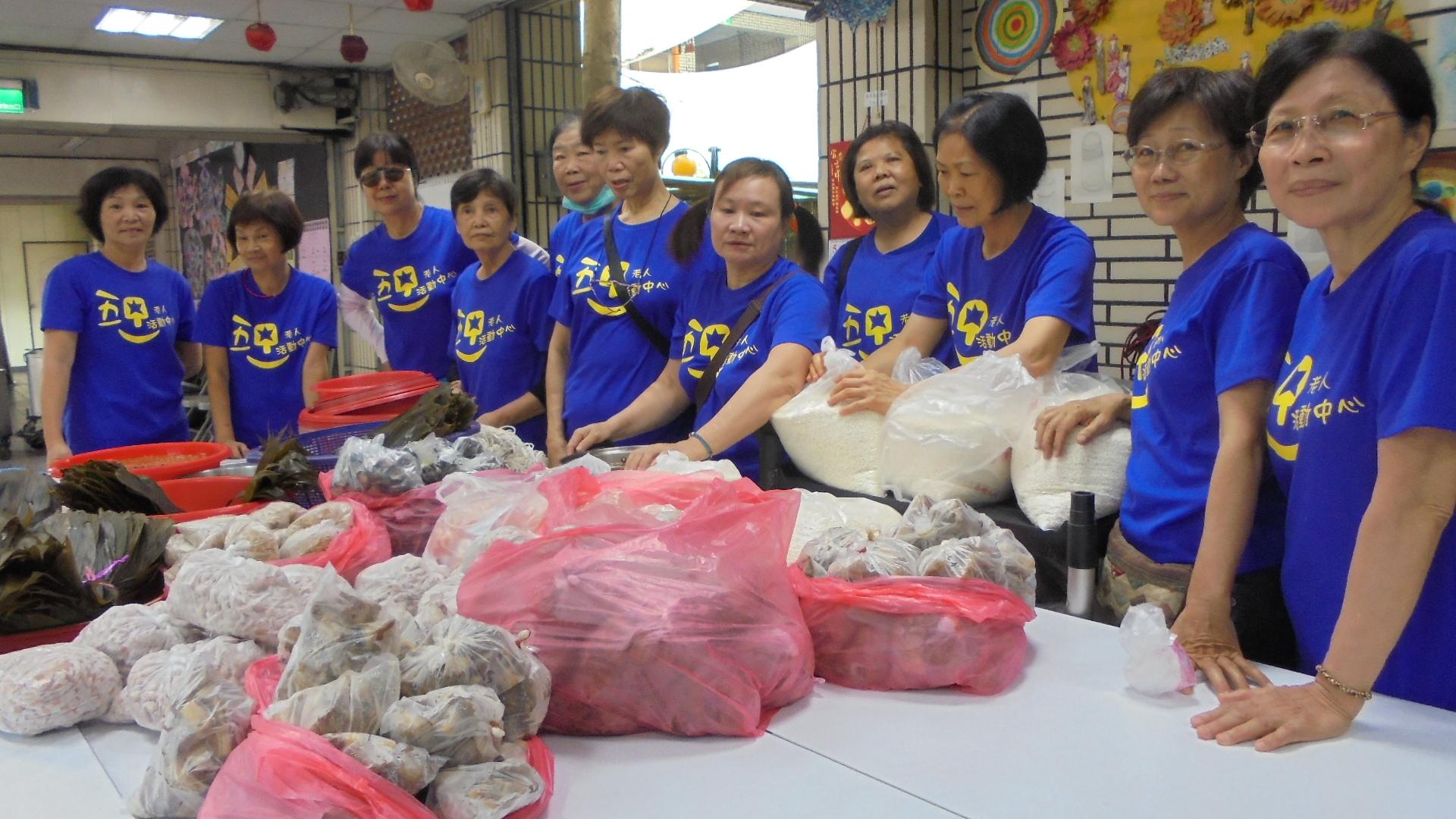 長青中心20週年慶暨五甲社區「粽葉飄香 舞端陽」社區關懷活動