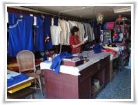 blue-dye shirts
