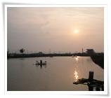 A-gong-dian Creek(Sunset)