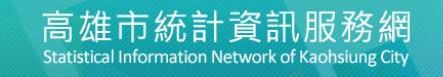 高雄市統計資訊服務網
