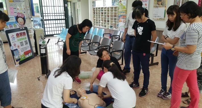 衛生所CPR教育訓練