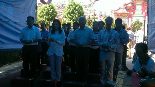 104年本區第一公墓骨堂清明節法會祭典活動