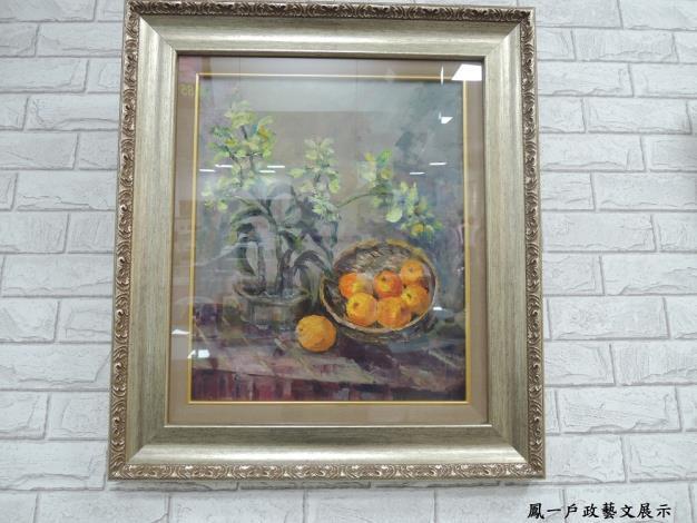 ﹝藝文走廊﹞黃秀美老師油畫作品展-107年10月