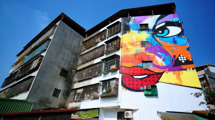 英義街413號牆面彩繪