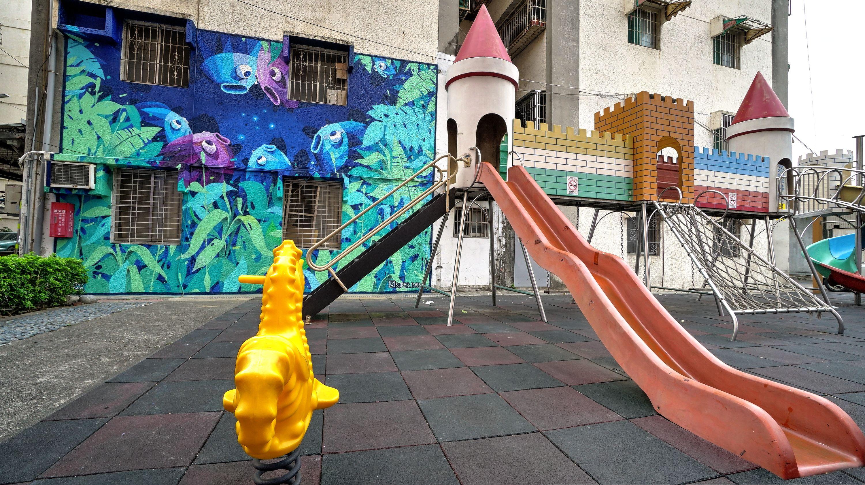 澄清路33巷2號牆面彩繪