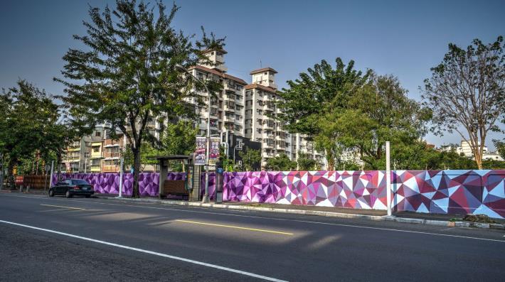 同慶里凱旋路圍牆彩繪