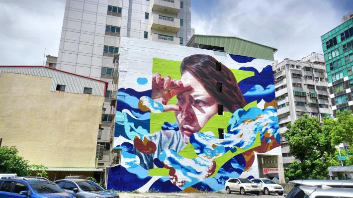苓南路32號牆面彩繪