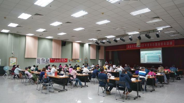 109年度苓雅區民防團基本訓練