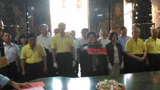陳菊市長拜訪代天宮