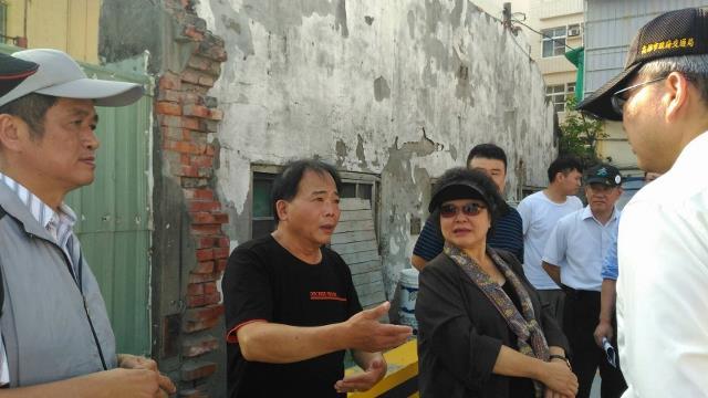 陳菊市長視察哈瑪星生態交通示範區