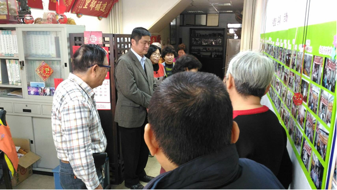 裕豐里地方仕紳與市政顧問陳文昌之夫人寒冬送暖