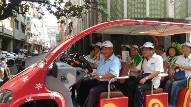 生態交通示範區5里榮譽大使掃街宣傳活動