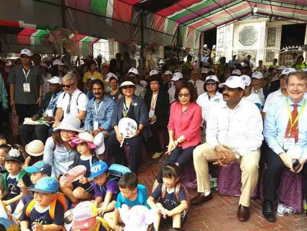 市長暨外賓參訪生態交通示範社區巡禮活動