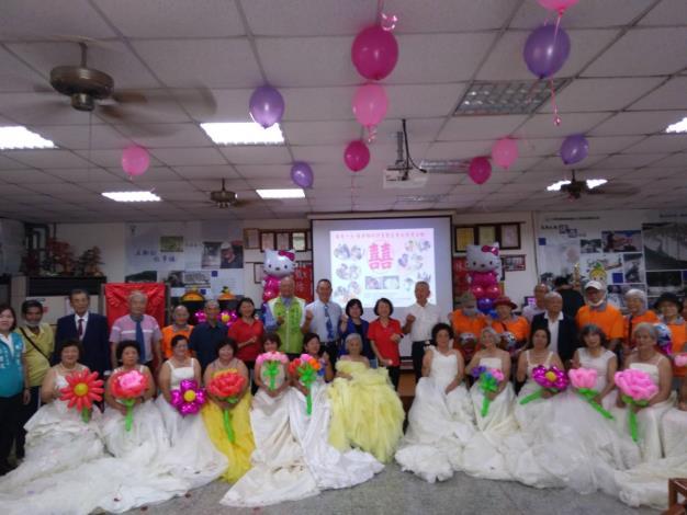 109年8月5日汪區長參與統嶺社區再愛一次-圓夢婚紗活動