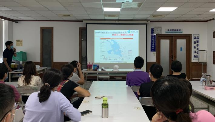 本所配合9月21日國家防災日同步與全國進行抗震演練