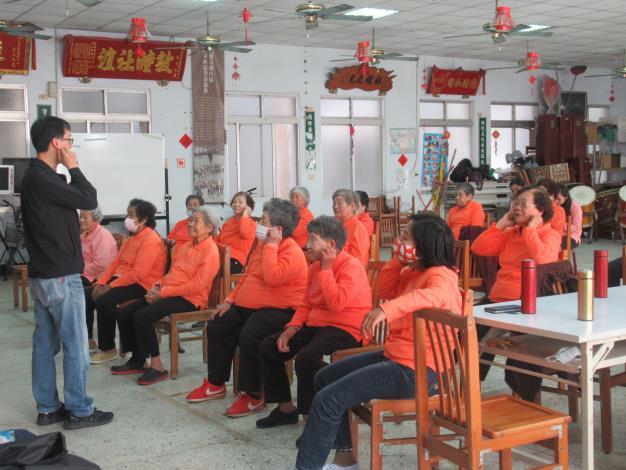 ⌜Listen 聽見,讓愛聲華⌟湖內區公所與華科慈善基金會辦理劉...