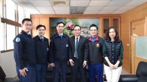 空軍航空技術學院校長陳篤敢少將來訪