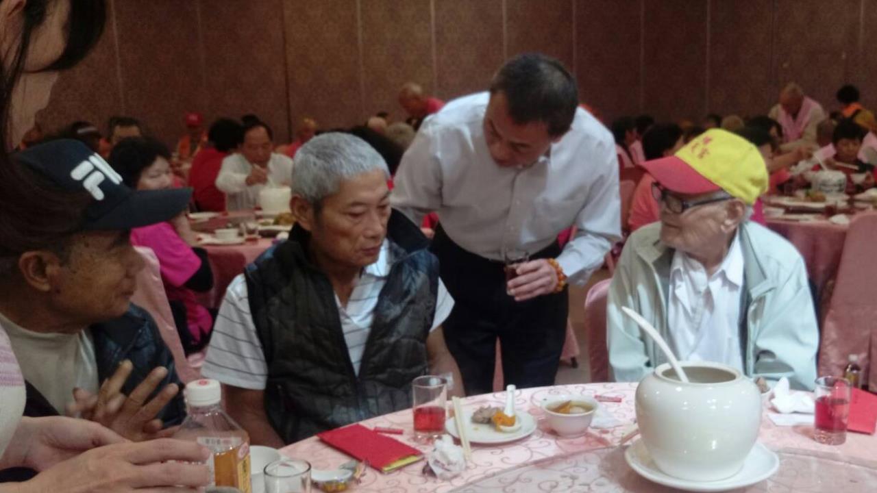 108年度獨居老人圍爐活動