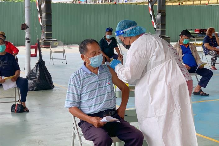 6月23日桃源區65歲以上疫苗接種圓滿完成