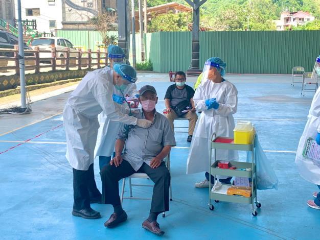 桃源區110年7月2日55歲-64歲長者疫苗接種情形