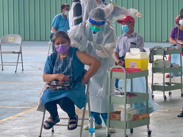 💉110年7月6日55歲-64歲疫苗接種順利完成💉