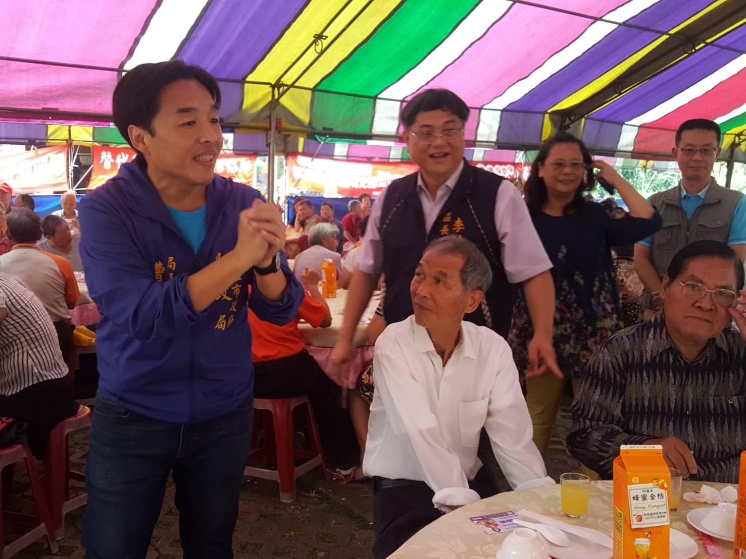 阿蓮社區發展協會舉辦九九重陽節敬老活動
