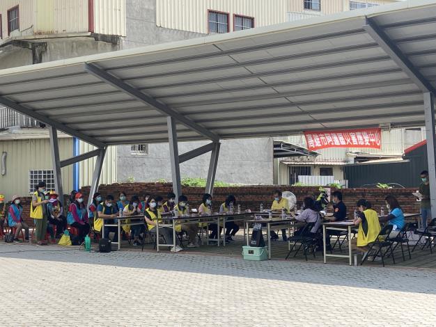 阿蓮區110年地震災害搶救實兵演練