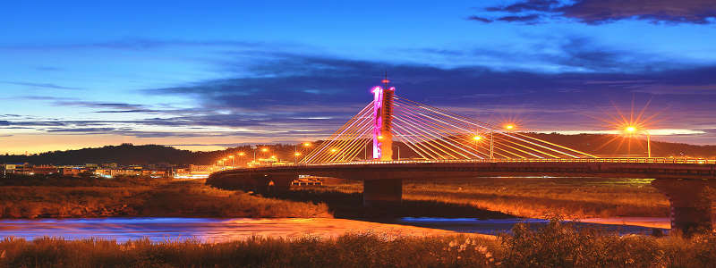 The bridge of Cishan