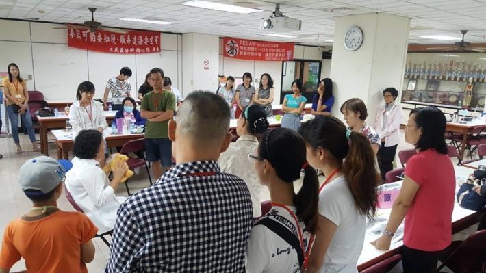 108年新住民健康家庭照顧學習專班