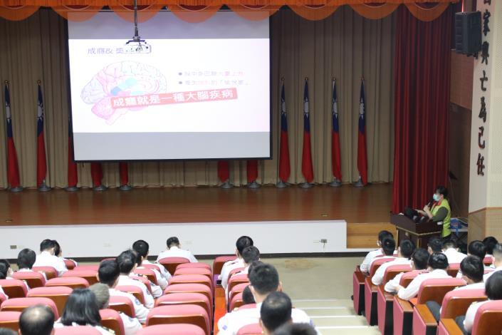 【110年】3/31 海軍保修指揮部毒品防制宣導講座