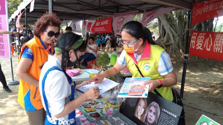【110年】4/3 2021童玩嘻遊記設攤宣導毒品防制