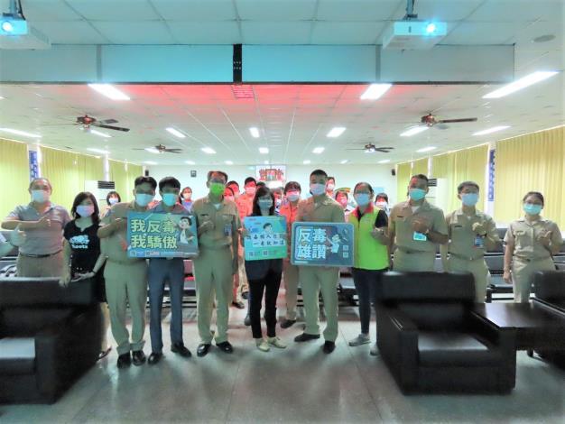 【110年】5/13 海軍補給總庫毒品防制教育訓練