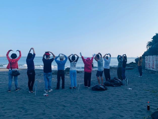 【109年3月8日】旗津淨灘-盡自己分心,用心愛地球