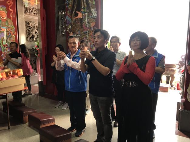 108.4.27局長蒞臨佛公天后宮