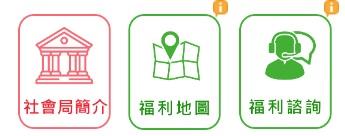 高雄市政府社會局「福利地圖系統」及「福利專家諮詢系統」,歡迎多利用!!