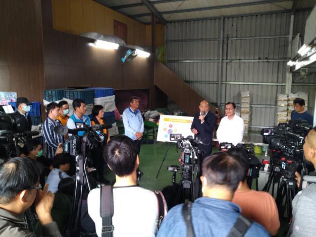 韓市長視察偏鄉建設及農業生產銷售情形