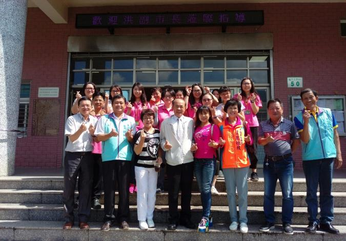 高雄市政府副市長洪東煒訪視甲仙區防汛防災建設及關懷弱勢家庭