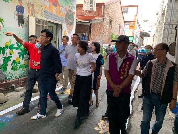 市長親訪甲仙體會在地文化,深入了解在地需求!