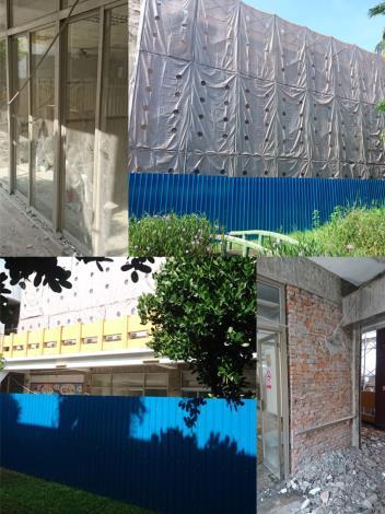 左營老人活動中心後棟前瞻計畫耐震補強工程即將完工