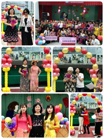 本所婦參小組感恩母親節「媽媽的第二次紅毯-秀出精彩人生樂章」活動,社區媽媽們美麗走秀,分享精彩的人生故事