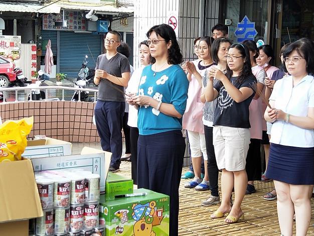 左營區行政中心舉行108年中元普渡祭拜