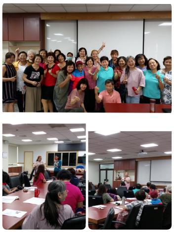 本所婦參小組女性社會參與的對話課第一堂「尋找自尊與認同」