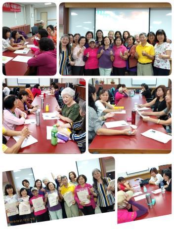 本所婦女社會參與促進小組辦理社區女性培力系列課程昨天(10月31日)圓滿落幕