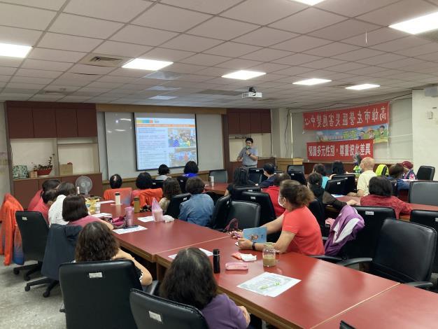 婦參小組培力課程〝婦女世界咖啡館〞,促進參與社區公共事務