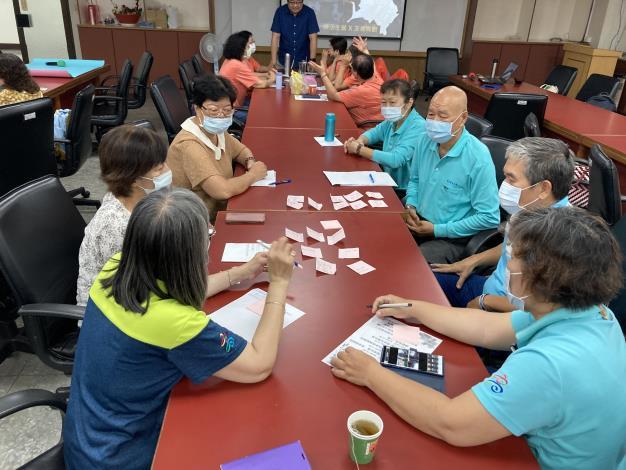 本所婦參小組社區培力「公民參與課程」高齡友善議題討論