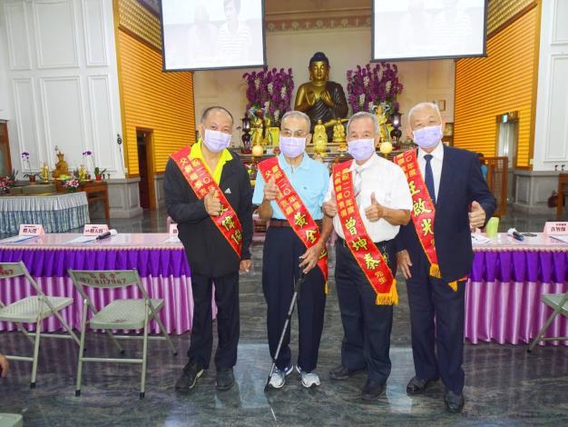 恭賀本區4位爸爸榮獲110年父親楷模表揚