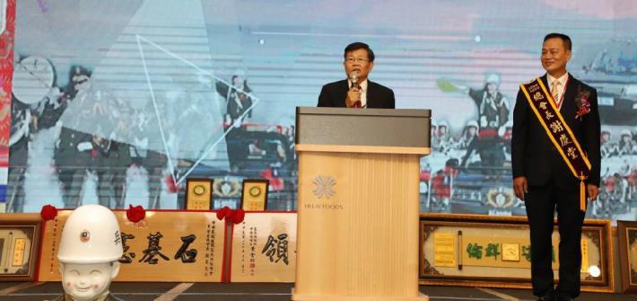 楊明州代理市長參加後備憲兵荷松總會第七屆、第八屆 總會長交接典禮