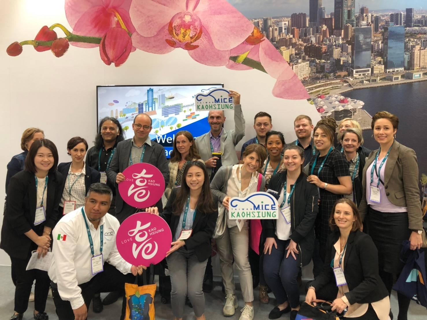 高市府前進全球最大獎勵旅遊展IMEX 行銷2020ICCA年會在高雄