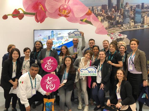 高市府前進全球最大獎勵旅遊展IMEX 行銷2020ICCA年會在...